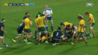 Australia v Argentina Rd.4 Rugby Championship | Rugby Championship Video Highlights