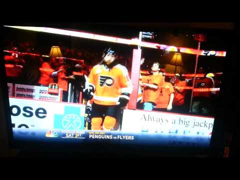 NBC Penguins vs Flyers Promo