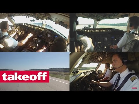 Join airline pilots in the cockpit...
