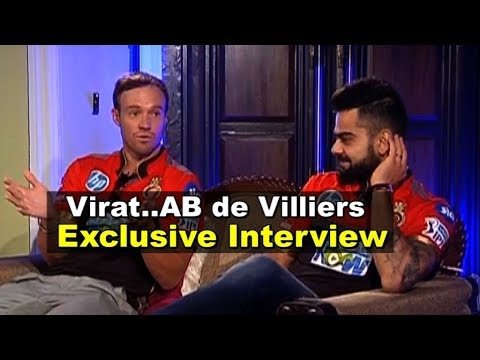 Video EXCLUSIVE INTERVIEW: Virat Kohli & AB De Villiers Together For The First Time   Sports Tak download in MP3, 3GP, MP4, WEBM, AVI, FLV January 2017