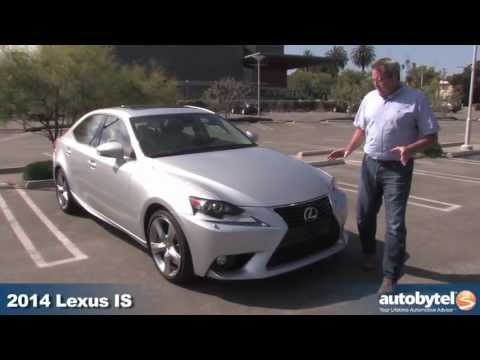 2014 Lexus IS 350 Video Review