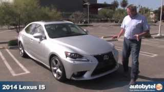 2014 Lexus IS 350 Test Drive&Compact Luxury Sports Sedan Car Video Review