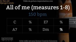Ce playback est issu du cours vidéo sur All of Me (78 min !) ici : https://www.guitare-improvisation.com/video_all-of-me.phpMa version de All of Me : https://youtu.be/0s-h5Aa9zlgContrebasse : Felipe Sequeira http://www.felipesequeira.comGuitares : Martin Gioani  https://www.martingioani.com:::::::::::::::::::::::::::::::::::::::::::::::::::::::::::::::::::::::::::::::::::::Pour suivre les actualités du site (tutoriels, playbacks) abonnez-vous à cette chaîne Youtube et à la page Facebook : https://www.facebook.com/GuitareImprovisation
