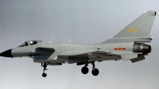 Crew of U.S. Navy surveillance plane forced to take evasive action