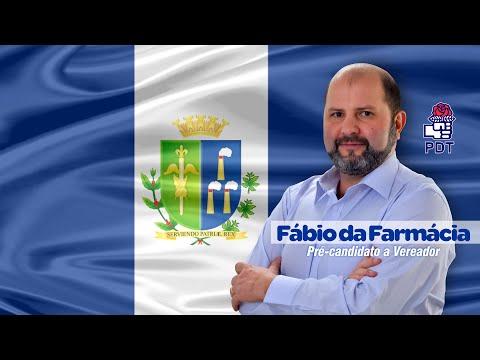 Fábio da Farmácia - Pré-candidato a vereador Laranjal Paulista