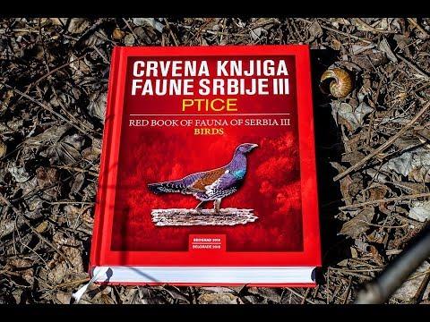 Црвена књига фауне Србије III – Птице