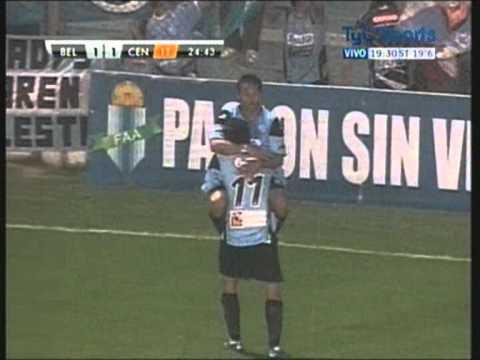Gol de César Pereyra a Rosario Central