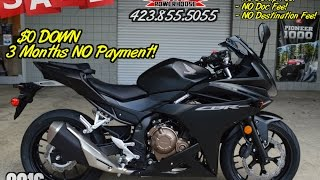 6. 2016 Honda CBR500R Review of Specs - CBR Sport Bike SALE @ Honda of Chattanooga