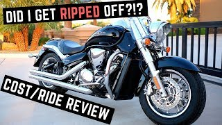1. What I Paid For a Used Suzuki Boulevard C109R (C109RT) + Ride/Review