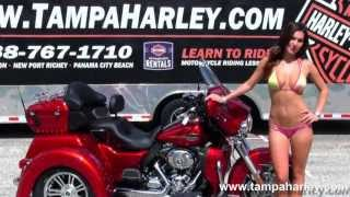 6. 2013 Harley Davidson Tri Glide Ultra Classic - New Trike for Sale