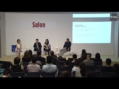 Art Salon at Art Basel Hong Kong 2014 - Setting up a System: Contemporary Art Ecologies in Dynamic Economies Such As Brazil, Indonesia and Singapore