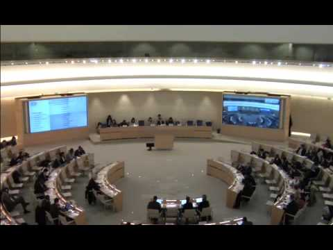 UN Live United Nations Web TV   Universal Periodic Review   Namibia Review   24th Session of Univers