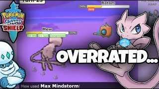 GameFreak ALLEGEDLY Made Mew Broken... This Is What Really Happened... Pokemon Sword and Shield by Thunder Blunder 777