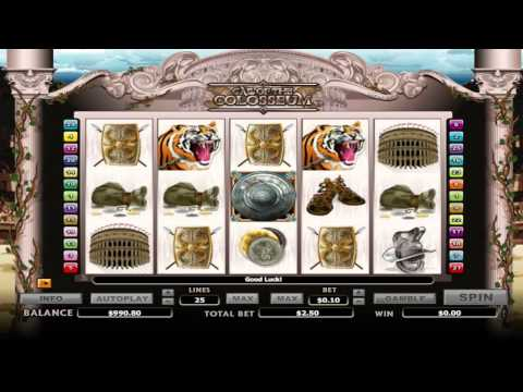 Call of the Colosseum ™ free slots machine game preview by Slotozilla.com