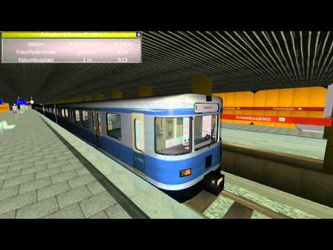 Münchner U-Bahn Simulator U1 HD 001