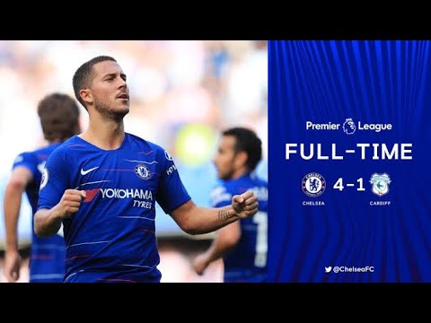 CHELSEA 4-1 CARDIFF & MATCH REVIEW !