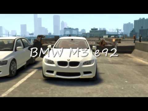 BMW M3 GTA - EDIT: I've been asked often for the cheats. There are none. These are mods that you download for PC. EDIT 8/9/2011: Wow. Almost 200000 views and counting. I...
