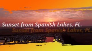 Fort Pierce (FL) United States  City pictures : Sunset on Spanish Lakes and I95 Fort Pierce , Florida, USA