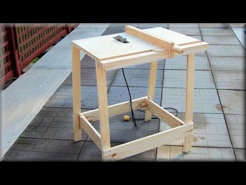 Utility Table Saw Cut Demo
