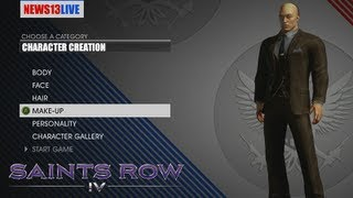 Saints Row 4 Walkthrough Part 0: Character Creation Gameplay Let's Play