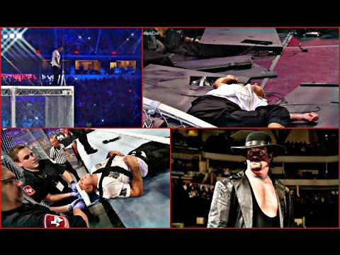 """Undertaker vs shane McMahon wrestlemania """"hell in a cell"""" full match"""