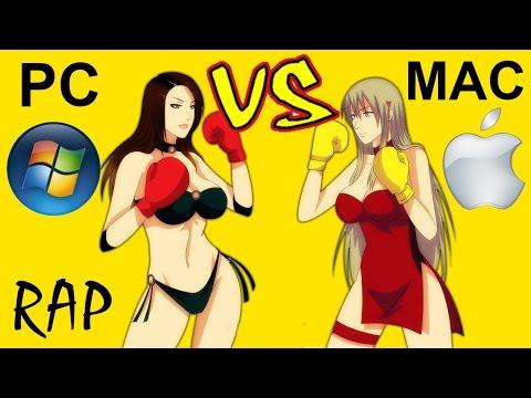 PC WINDOWS VS MAC APPLE - Battaglia Rap Epica - Manuel Aski