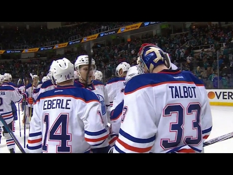 Video: Kassian & Talbot spoil Thornton's return as Oilers defeat Sharks in Game 3