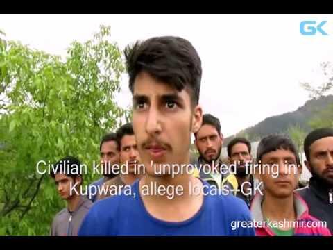 Civilian killed in 'unprovoked' firing in Kupwara, allege locals