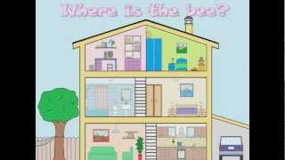 A bee in my house, Vocabulary revision for the rooms of a house