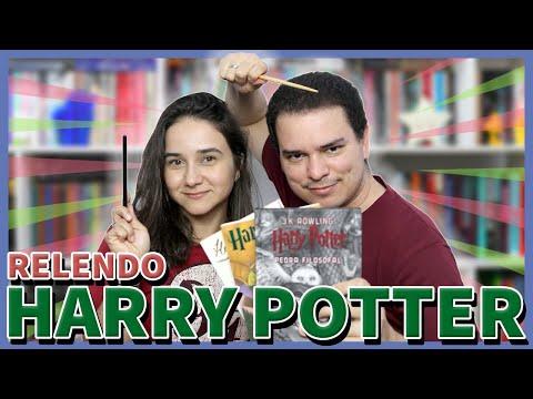 Relendo a Saga Harry Potter | Bate-papo sobre Harry Potter e a pedra filosofal