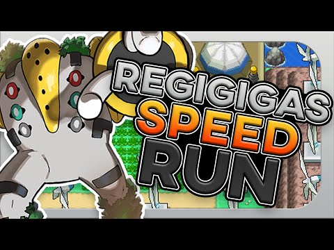How Fast Can You Beat Pokemon Platinum With Only a Regigigas?! (no items, speedrun)