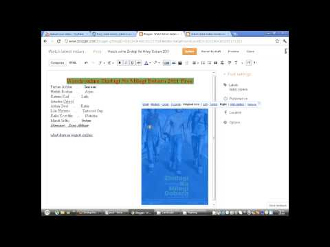 Make Money online free course Part 3C | How to Create a new post on blogger In Urdu