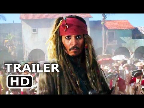 PIRATES OF THE CARIBBEAN 5 Official Trailer # 3 (2017) Dead Men Tell No Tales, Disney Movie HD (видео)