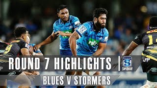 Blues v Stormers Rd.7 2019 Super rugby video highlights | Super Rugby Video Highlights