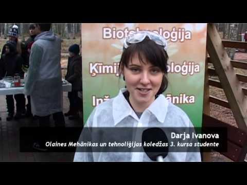 Olaines pilsētas 47.dzimšanas dienas video sižets