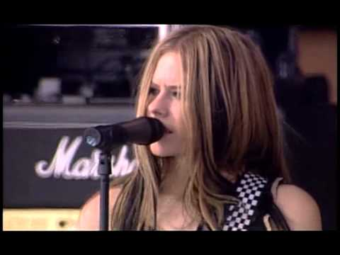 Avril Lavigne – Don't Tell Me @ Live at Rock AM Ring 2004