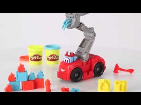 """Игровой набор Play-Doh """"Бумер: Пожарная машина"""""""