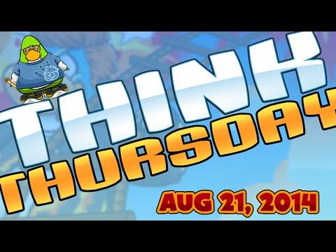 Club Penguin: Think Thursday - August 21, 2014