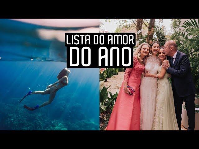 Mais AMADOS de 2019 | Lista do amor - Luisa Accorsi