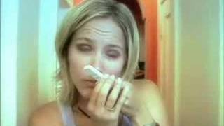 Girl doing Pregnancy Test - Funny Ad