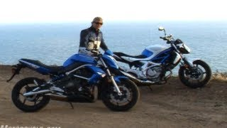 9. 2009 Naked Middleweight Comparison: Kawasaki ER-6n vs. Suzuki Gladius