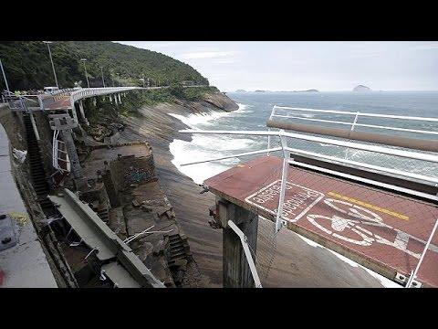 Ρίο ντε Τζανέιρο: Δύο νεκροί σε κατάρρευση ποδηλατόδρομου