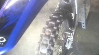 9. yz250 engine noise (clutch?)
