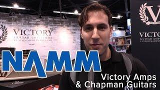 7. Winter NAMM 2017: Victory Amps & Chapman Guitars (V40 Deluxe, V130 Super Countess & 29 NEW GUITARS!)