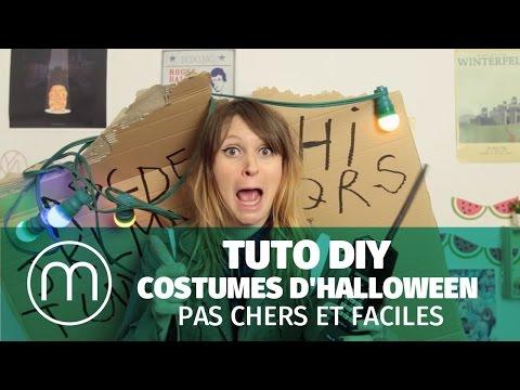 Tuto DIY: costumes d'Halloween pas chers et faciles — Par Fannyfique !