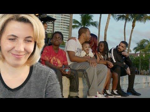 Мама Туся смотрит Drake - God's Plan (видео)