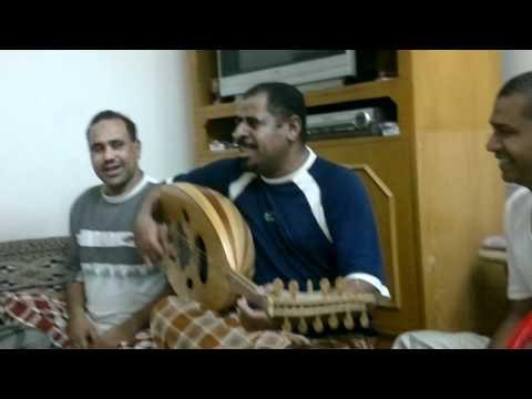 عدنيات - جلسة خاصه للفنان المبدع صالح باوزير المخرج نبيل غيث.