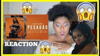 image of IZA - PESADÃO MUSIC VIDEO REACTION (Reação) (Participação especial Marcelo Falcão)