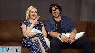 Eliza Taylor & Bob Morley On 'The 100' Relationship, Season 5 Finale | Comic-Con 2018 | TVLine