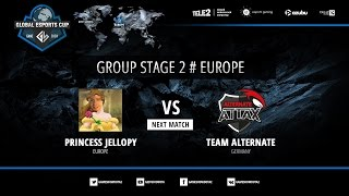 Princess Jellopy vs Alternate Attax, game 2